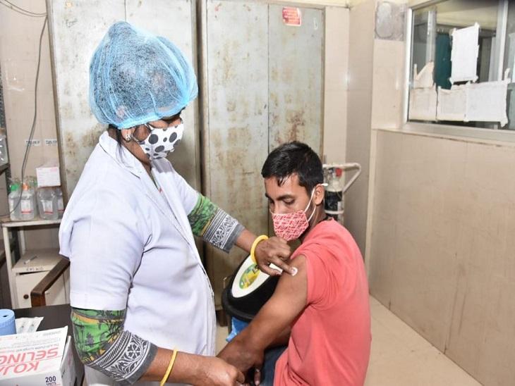 दुर्ग जिले में 18+ की तैयारी, 45+ उम्र के लोगों का लक्ष्य पूरा होने के करीब; 60 साल से ज्यादा उम्र के 66% ही लगा टीका|भिलाई,Bhilai - Dainik Bhaskar