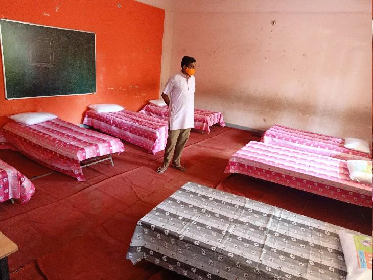 वाराणसी के अस्पतालों में भर्ती कोविड मरीजों के परिजनों के लिए 60 बेड आश्रय स्थल खोला गया, निशुल्क रहने के साथ मिलेगा काढ़ा और भोजन|वाराणसी,Varanasi - Dainik Bhaskar