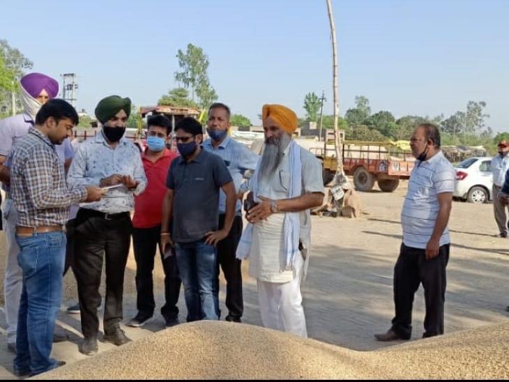 होशियारपुर की मंडियों में अब तक हुई 160481 मीट्रिक टन गेहूं की खरीद, किसानों को 198.40 करोड़ रुपए की हो चुकी है सीधी अदायगी: अपनीत रियात होशियारपुर,Hoshiarpur - Dainik Bhaskar