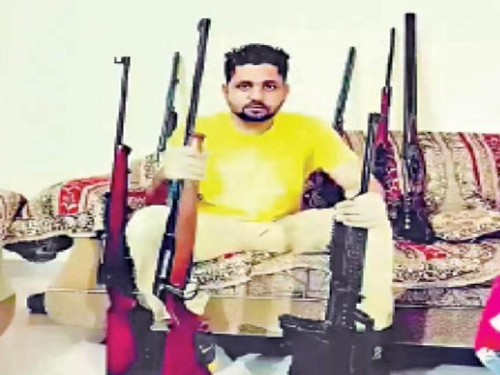 हत्या के मामले में जमानत के बाद फरार हुआ गैंगस्टर लैहम्बर अमेरिका में गिरफ्तार|लुधियाना,Ludhiana - Dainik Bhaskar