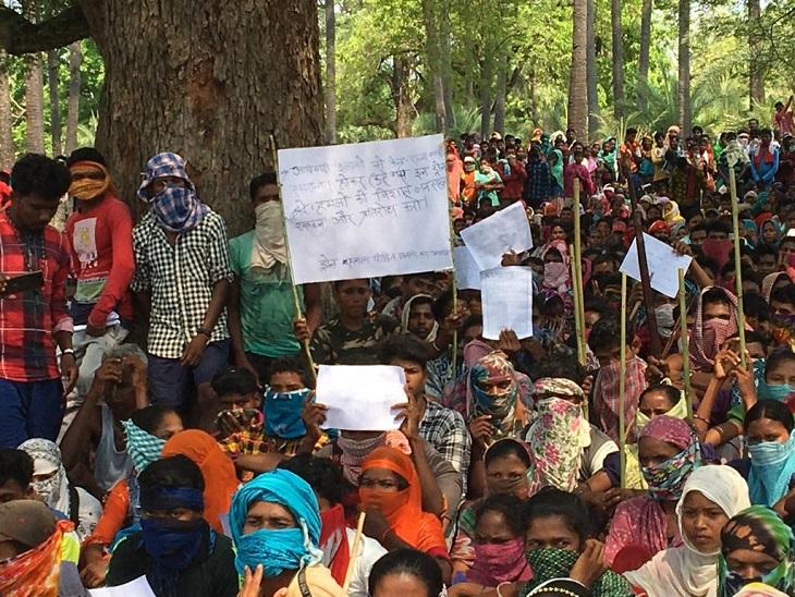 ग्रामीणों ने कहा कि ड्रोन हमले से जल, जंगल, जमीन के साथ-साथ जंगल में रहने वाले अन्य जीवों और आने वाली पीढ़ियों के लिए भी खतरा है।