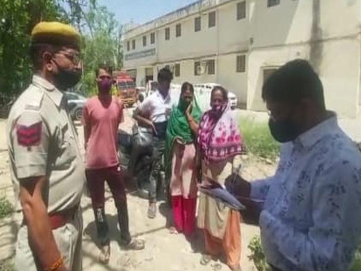खर्चे पानी के पैसे नहीं दिए तो गला काटकर हत्या कर दी; अक्सर होता था लड़ाई-झगड़ा, 13 साल की बेटी को साथ लेकर फरार अजमेर,Ajmer - Dainik Bhaskar