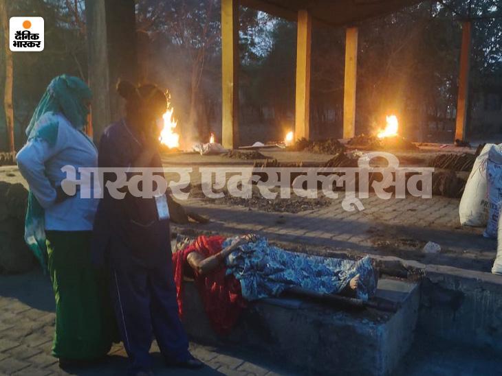 रायपुर में डॉक्टरों ने बेहोश महिला को मृत बताया, चिता पर लिटाते समय हुई हलचल; वापस अस्पताल भेजा, वहां बच न सकी|रायपुर,Raipur - Dainik Bhaskar