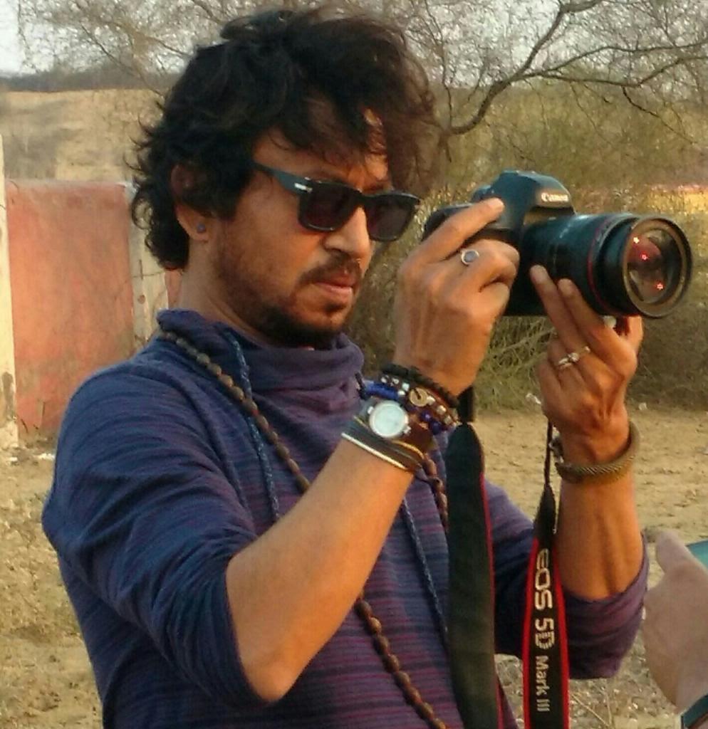 इरफान को फोटोग्राफी का बहुत शौक था।
