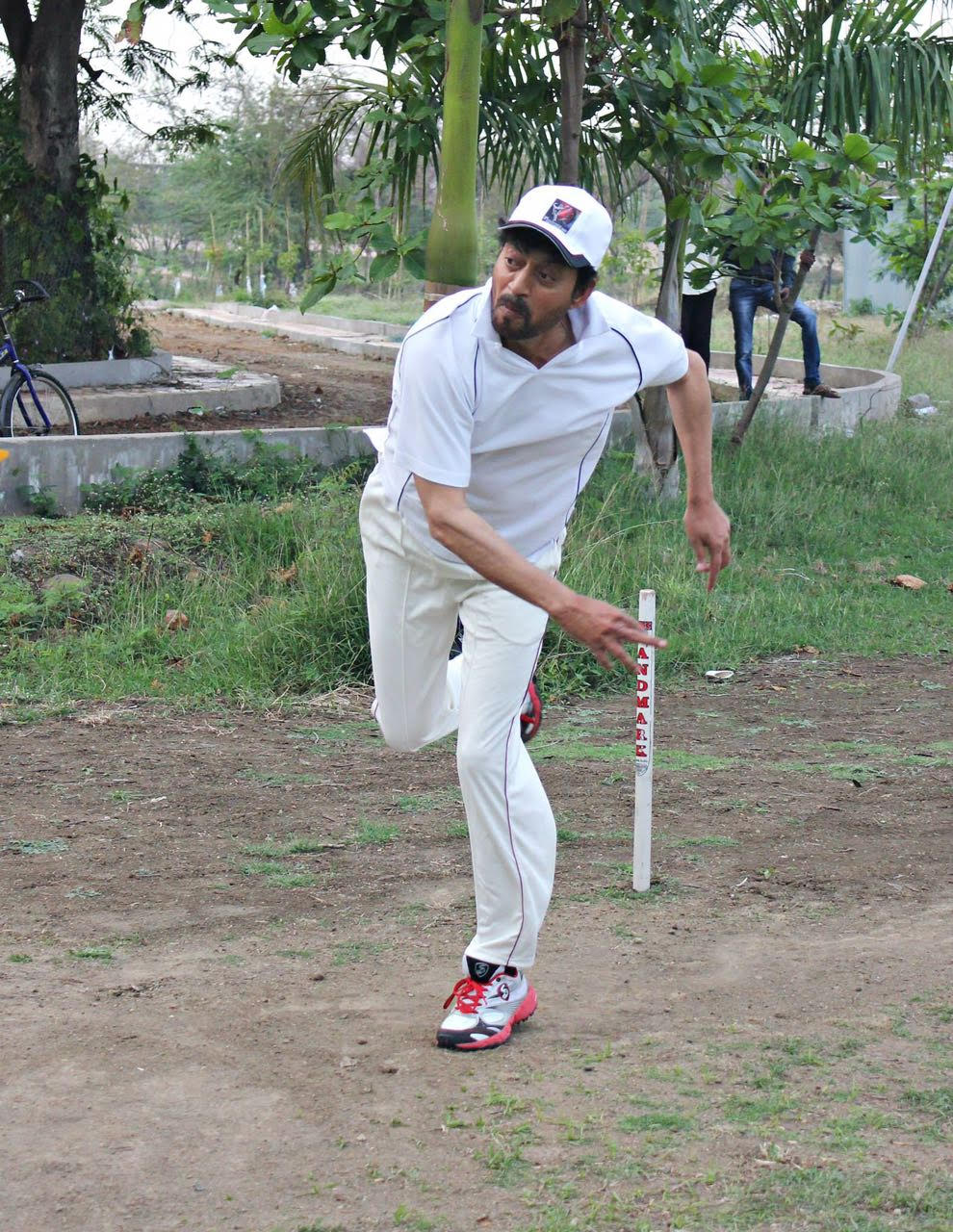 क्रिकेट इरफान का पसंदीदा टाइम पास था।
