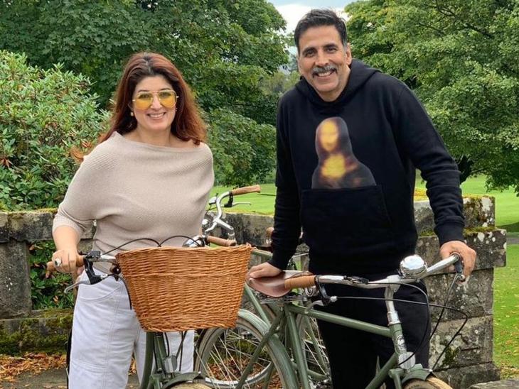 अक्षय कुमार और ट्विंकल खन्ना कोरोना के मरीजों की मदद के लिए आगे आए, UK से 100 ऑक्सीजन कंसंट्रेटर का किया इंतेजाम बॉलीवुड,Bollywood - Dainik Bhaskar