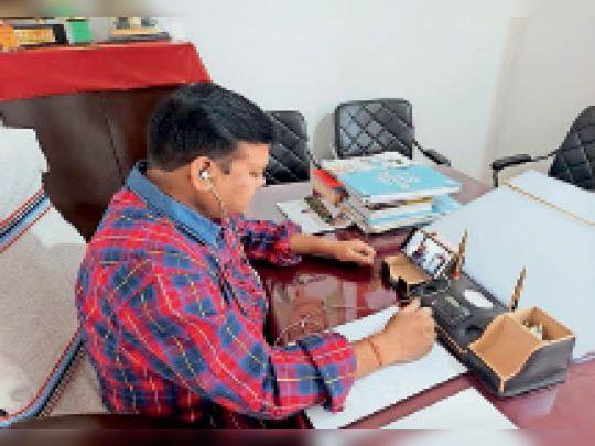 कांग्रेस विधायक दल की बैठक। - Dainik Bhaskar