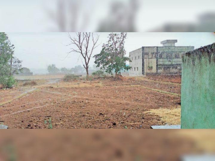 जयनगर में ओलावृष्टि और बारिश का नजारा। - Dainik Bhaskar
