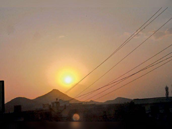 बाड़मेर, दिनभर तेज गर्मी व लू ने किया परेशान। शाम को मिली मामूली राहत। - Dainik Bhaskar