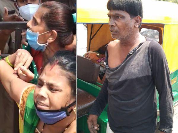 हाईकोर्ट के आदेश के बावजूद गुजरात में नहीं सुधरे हालात, प्राइवेट वाहनों से आने वाले मरीजों को नहीं किया जा रहा एडमिट गुजरात,Gujarat - Dainik Bhaskar