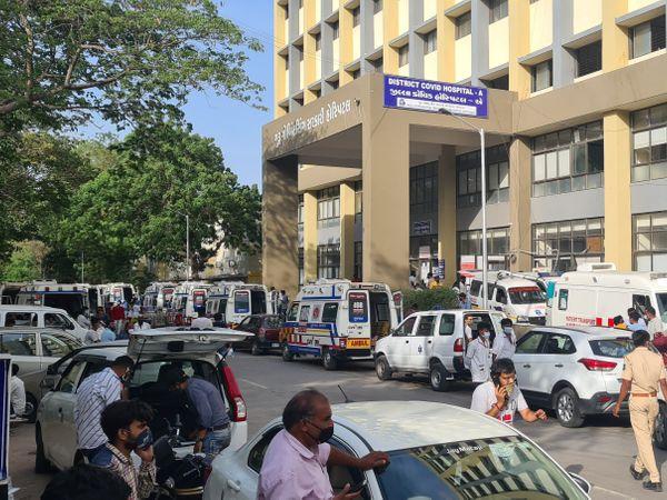 गुजरात के जामनगर में इलाज के दौरान फिर से 100 मरीजों की मौत, रिकॉर्ड नए 721 संक्रमित मिले गुजरात,Gujarat - Dainik Bhaskar