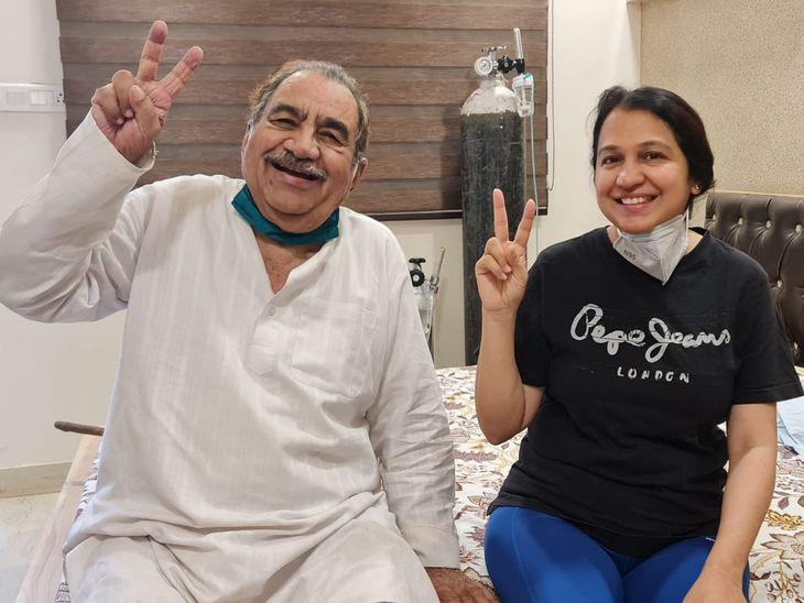 47 साल बेटी की सेवा और विल पॉवर से बुजुर्ग ने जिंदगी को जीता, मां को बेटी ने दिया हौसला, कहा-मां, तू चिंता मत कर, यमराज से भी छीन लाऊंगी|अजमेर,Ajmer - Dainik Bhaskar