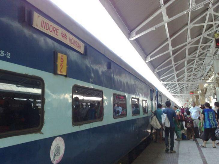 यात्रियों की संख्या देख रेलवे 7 जोड़ी ट्रेनों में लगाएगा अतिरिक्त कोच, इंदौर- हावड़ा स्पेशल में जुड़ेगा एक और स्लीपर कोच इंदौर,Indore - Dainik Bhaskar