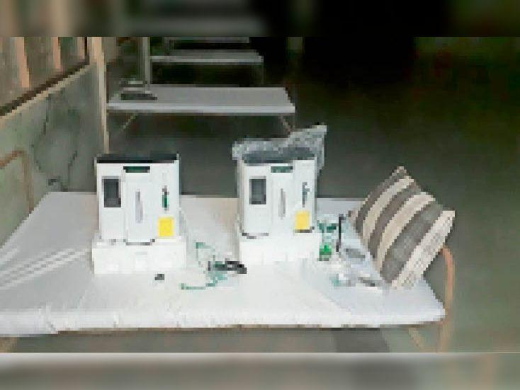 हरदा। हरदा हेल्प ग्रुप सौंपी दाे ऑक्सीजन कंसंट्रेटर मशीन। - Dainik Bhaskar