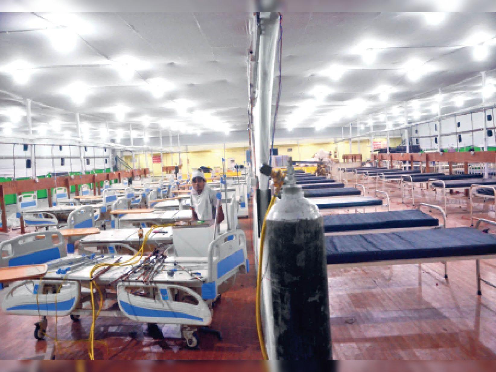 पाटलिपुत्र स्पोर्ट्स कॉम्प्लेक्स में शुरू होगा 100 बेड का कोविड अस्पताल - Dainik Bhaskar