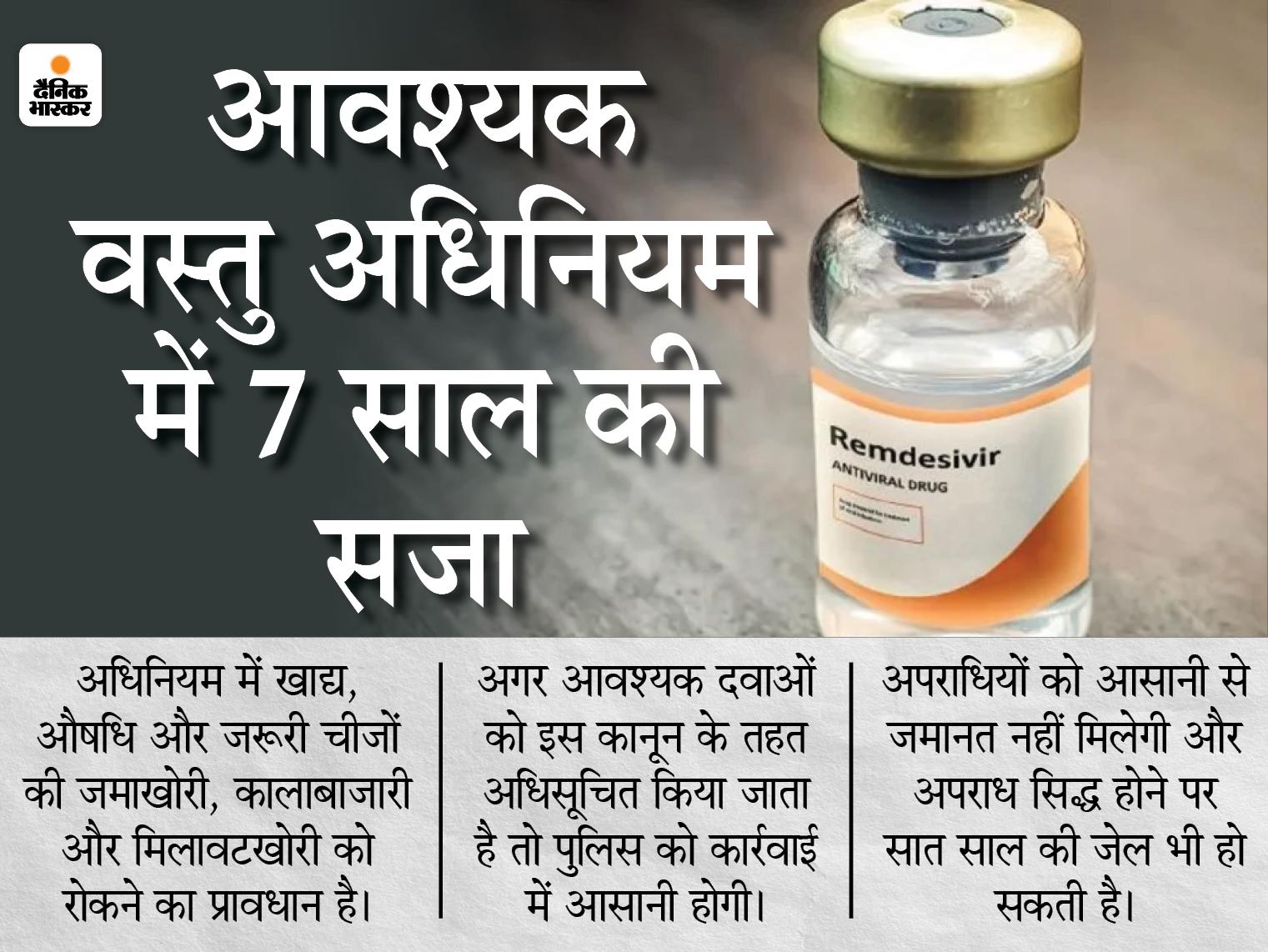 रेमडेसिविरइंजेक्शन को आवश्यक वस्तु अधिनियम में शामिल करने की मांग,CM बघेल ने केंद्रीय स्वास्थ्य मंत्री को लिखा पत्र|रायपुर,Raipur - Dainik Bhaskar