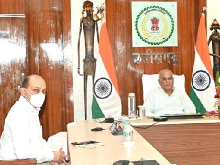 छत्तीसगढ़ सरकार ने जागरूक करने, होम आइसोलेशन दवा किट बांटने का दिया जिम्मा, उद्योगों ने सरकार से वैक्सीनेशन में सहयोग मांगा|रायपुर,Raipur - Dainik Bhaskar