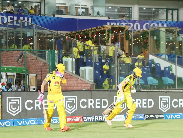 172 रन के टारगेट का पीछा करते हुए चेन्नई की शुरुआत बेहद शानदार रही। ओपनर ऋतुराज गायकवाड़ और फाफ डुप्लेसिस ने 129 रन की ओपनिंग पार्टनरशिप की।