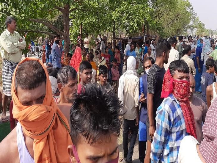 औरंगाबाद में हादसा; शादी समारोह से पोती के साथ घर लौट रही थी महिला, लड़की की हालत गंभीर|औरंगाबाद (बिहार),Aurangabad (Bihar) - Dainik Bhaskar