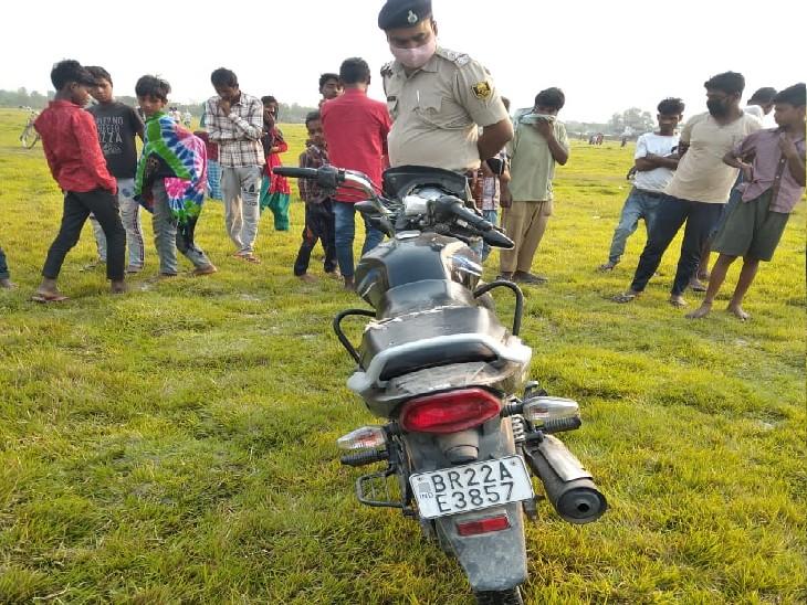 पुलिस ने युवक की पहचान उसके बाइक के रजिस्ट्रेशन नंबर के जरिए की। - Dainik Bhaskar