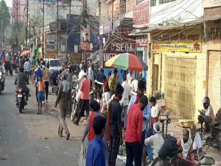 वाराणसी में आज से चार दिनों की बंदी, सभी दुकानें और व्यापारिक प्रतिष्ठान बंद रहेंगे; 700 से अधिक कंटेनमेंट जोन ने चिंता में डाला|वाराणसी,Varanasi - Dainik Bhaskar