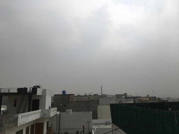 दिन में गर्मी ने सताया, शाम को तेज हवा और बादलों ने दिलाई राहत|पानीपत,Panipat - Dainik Bhaskar