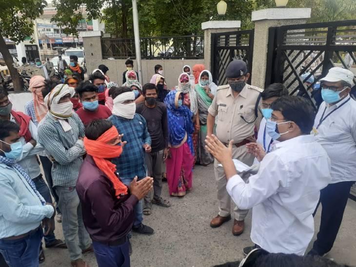 रीवा केन्द्रीय जेल में बिगड़ी एक कैदी की तबियत, जेल प्रबंधन अस्पताल लेकर पहुंचा तो हो गई मौत, परिजनों ने मचाया बवाल|रीवा,Rewa - Dainik Bhaskar