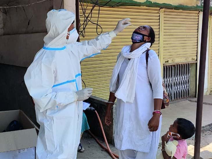 पिछले 24 घंटे में मिले 8,075 नए पॉजिटिव मरीज, 149 संक्रमितों की मौत; एक्टिव केस पहुंचे 54 हजार के पार|झारखंड,Jharkhand - Dainik Bhaskar