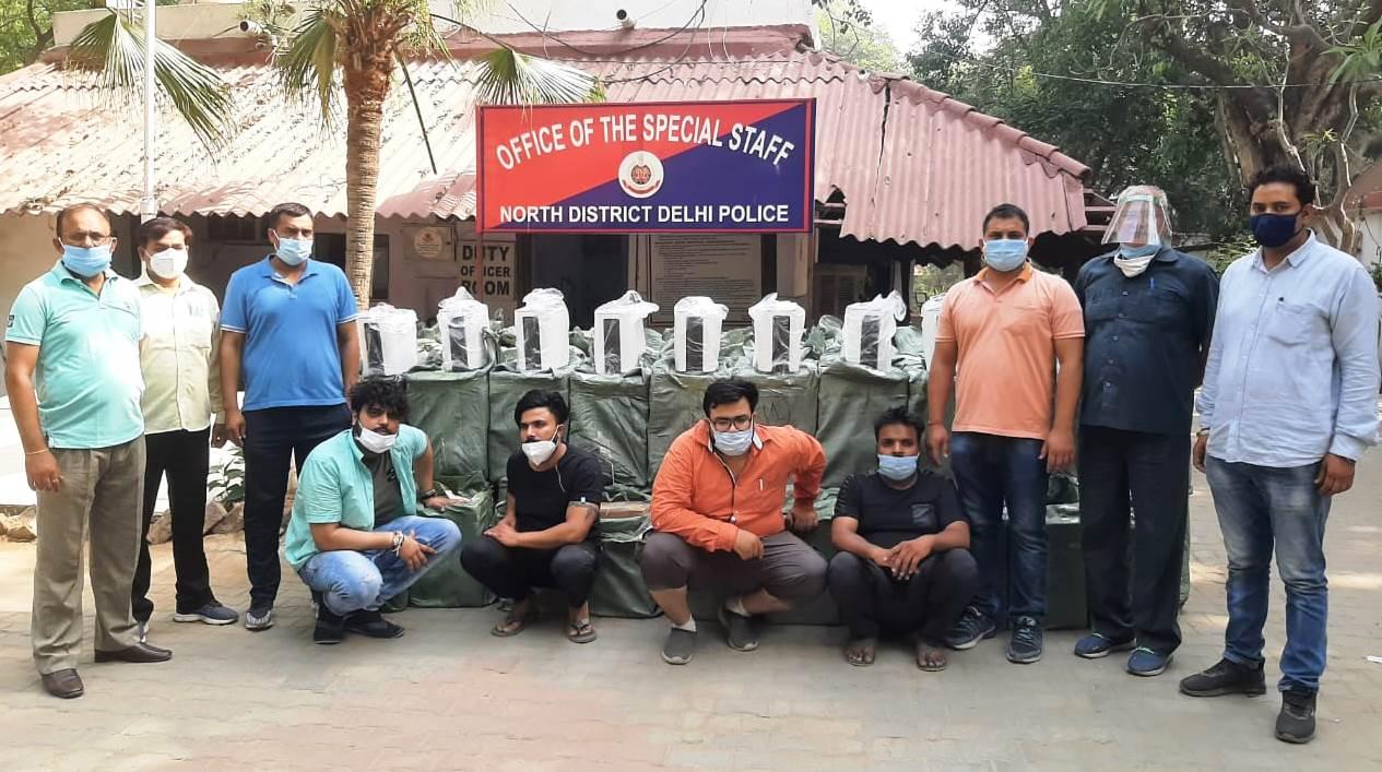 पुलिस ने इन सभी के खिलाफ सराय रोहिल्ला थाने में मुकदमा दर्ज कर उन्हें अरेस्ट किया है। - Dainik Bhaskar