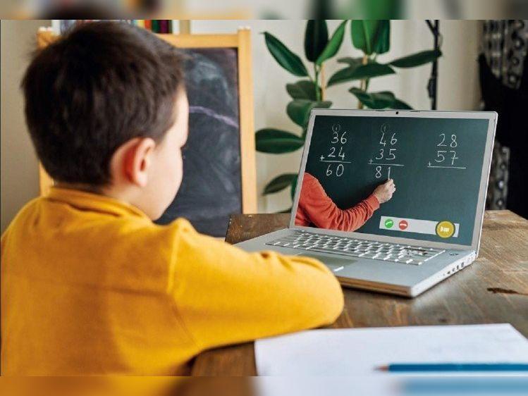 ऑनलाइन प्लेटफॉर्म के जरिए शैक्षिक गुणवत्ता बढ़ाने के लिए अब तक 62 कराेड़ घंटे प्रयाेग में लिया दीक्षा एप श्रीगंंगानगर,Sriganganagar - Dainik Bhaskar