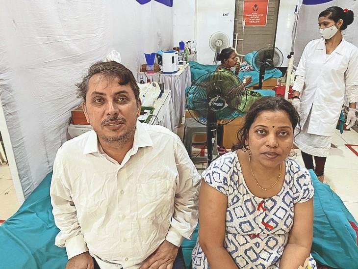 एंबुलेंस वाले ने 65 हजार लिया, महिला की सेंटर में सेवा देने की इच्छा - Dainik Bhaskar