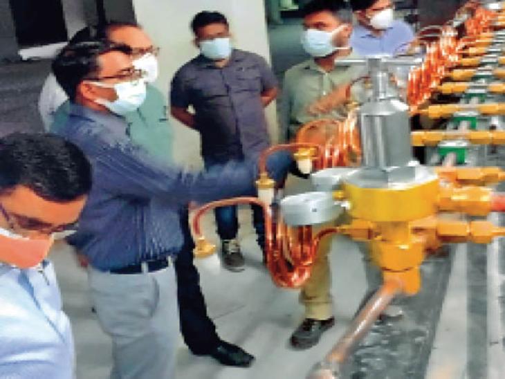 सदर अस्पताल में कोरोना मरीजों के इलाज में कर्मियों की मदद करेंगे, होमगार्ड के 120 जवान|रांची,Ranchi - Dainik Bhaskar
