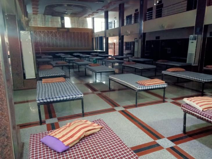 पाली में खुले अस्थाई अस्पताल म - Dainik Bhaskar