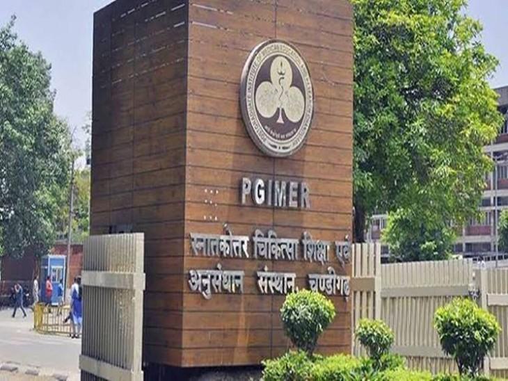 संक्रमित होने के बाद मेंटल स्ट्रेस से गुजर रहा था 42 वर्षीय प्रोफेसर ; PGI की चौथी मंजिल से छलांग लगाकर कर ली आत्महत्या,साइकैट्रिक विभाग से पहले ही चल रहा था इलाज|चंडीगढ़,Chandigarh - Dainik Bhaskar