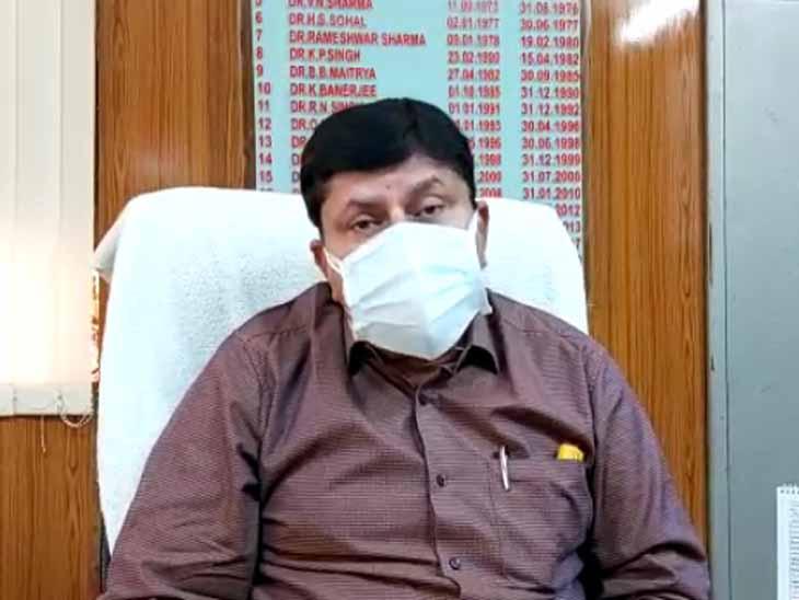 जोधपुर के हवा में तैर रहा कोरोना वायरस, इसलिए ज्यादा खतरनाक; मास्क हेलमेट हो सकता है, कवच नहीं|जोधपुर,Jodhpur - Dainik Bhaskar