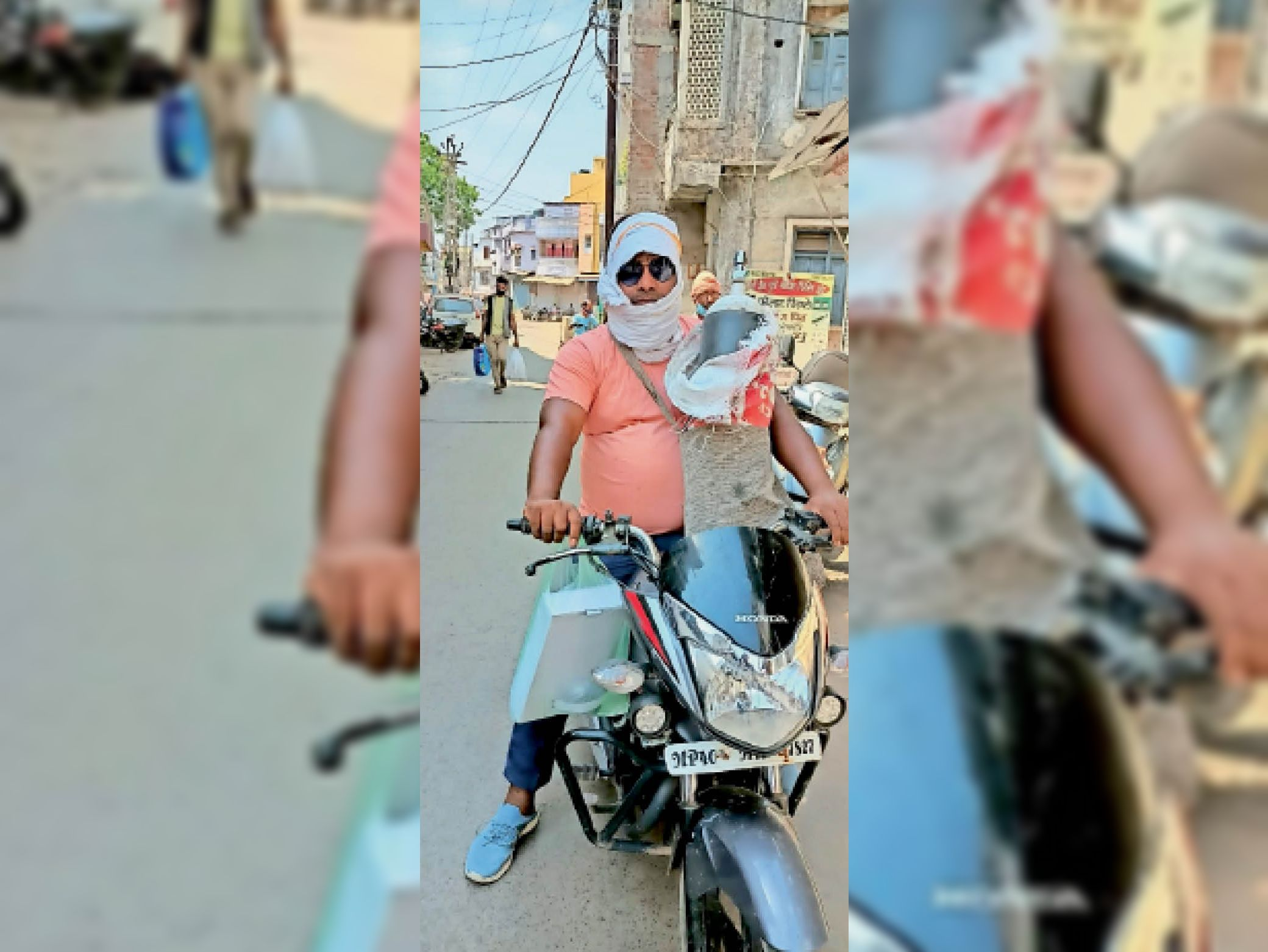 15 दिन से शहर  की स्थिति खराब है। मेरे प्रयास से अगर किसी की जान बच जाए तो मेरा जीवन सार्थक हो जाएगा। सोहिल अहमद - Dainik Bhaskar