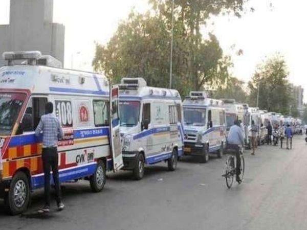 सूरत के सरकारी व प्राइवेट अस्पतालों में 50% बेड तो खाली, लेकिन ऑक्सीजन की कमी के चलते मरीजों को लौटाया जा रहा|गुजरात,Gujarat - Dainik Bhaskar