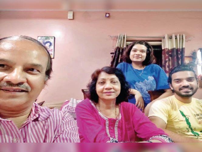दोनों डोज के बाद डॉक्टर दंपती पॉजिटिव, सिर्फ सावधानी से जीता पूरा परिवार|रायपुर,Raipur - Dainik Bhaskar