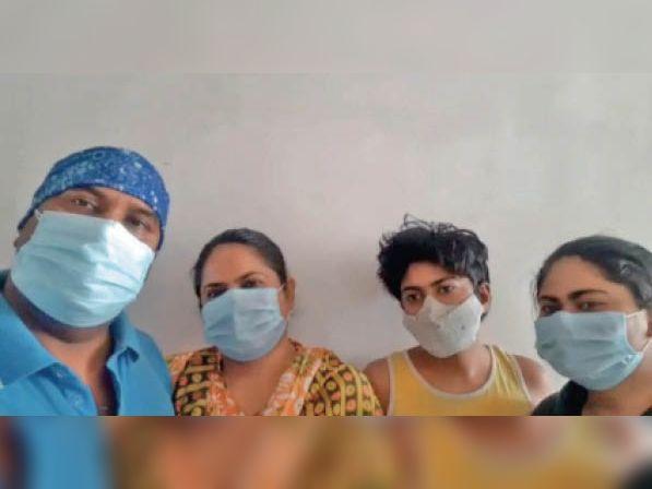 50 प्रतिशत तक खराब हो गए थे अस्थमा पीडि़त बेटी के फेफड़े, इंदौर में नहीं मिली सुविधा, बुरहानपुर में मिली तो जीत गए जंग बुरहानपुर,Burhanpur - Dainik Bhaskar