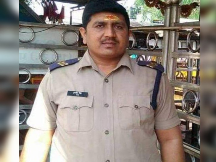 कोरोना योद्धा हरवीर सिंह की 15 दिन पहले रिपोर्ट पॉजीटिव आई थी। - Dainik Bhaskar