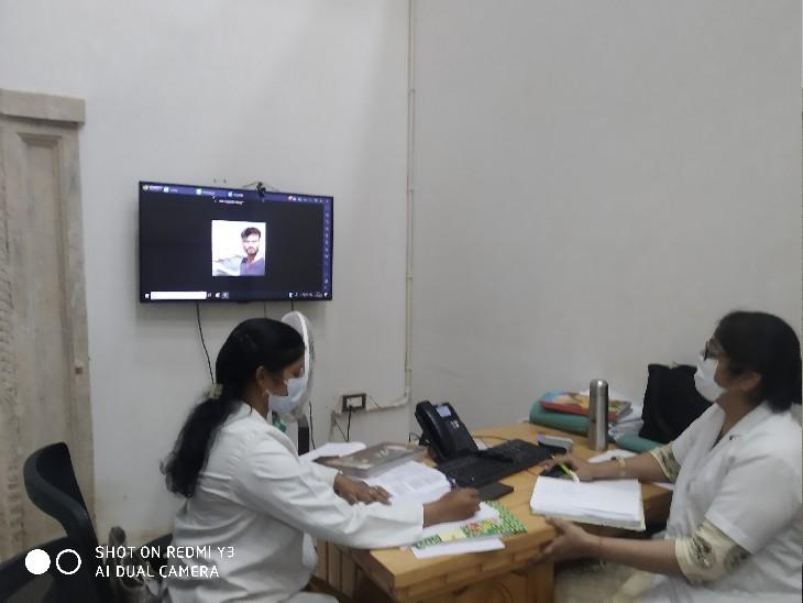 डॉक्टर, 7 दिन पहले रिपोर्ट पॉजिटिव आई थी, बिल्कुल भी बीमार नहीं हूं, क्या भतीजे के बर्थडे में शामिल हो सकता हूं|ग्वालियर,Gwalior - Dainik Bhaskar