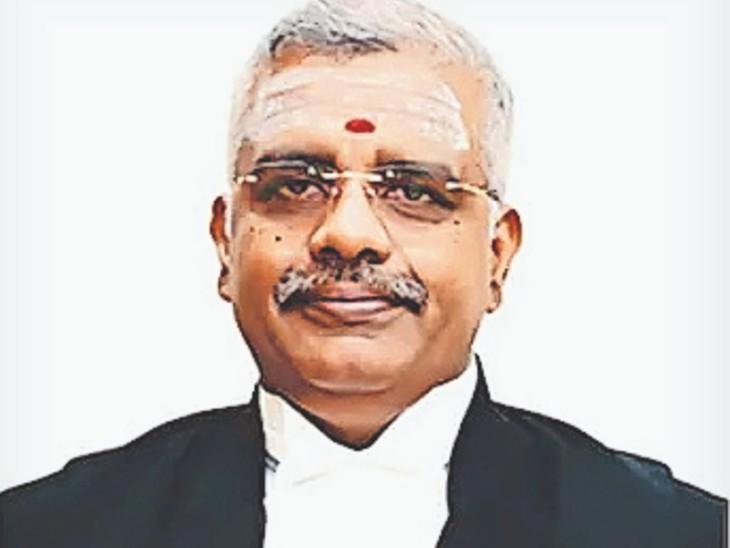मद्रास हाईकोर्ट के जस्टिस एन आनंद - Dainik Bhaskar