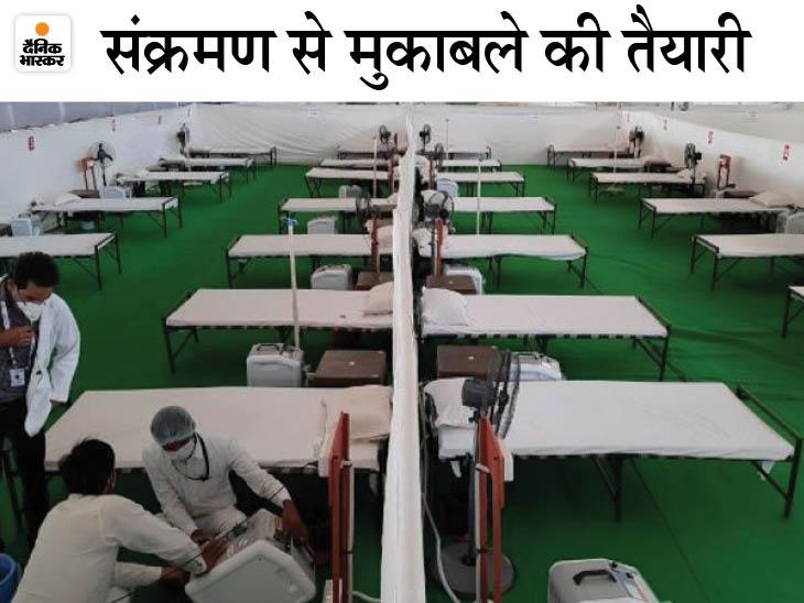 राज्य में पहली लहर में 4 महीने में जितने मरीज मिले, उससे ज्यादा दूसरी में 29 दिन के अंदर आ गए; केंद्रीय मंत्री शेखावत के माता-पिता भी संक्रमित|राजस्थान,Rajasthan - Dainik Bhaskar