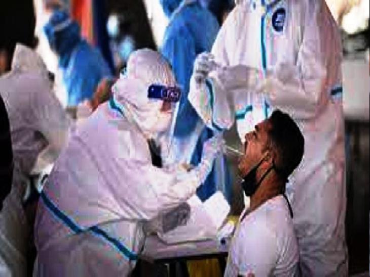 32 लोग सारनाथ तिब्बती संस्थान में संक्रमित पाये गये हैं। - Dainik Bhaskar