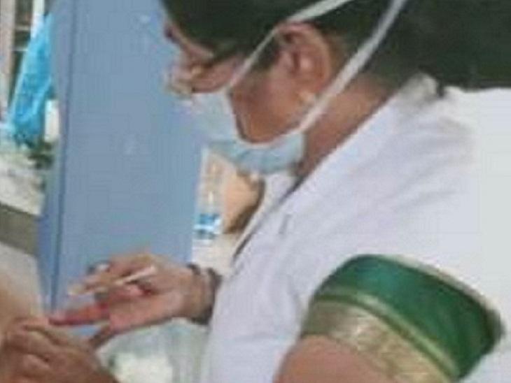 लोगों को वैक्सीन लगाते हुए संक्रमित हो गई नर्स, ECTC में बेड तक नहीं मिला; 4 दिन बाद जब मिला, तब सांसें टूट गईं|छत्तीसगढ़,Chhattisgarh - Dainik Bhaskar