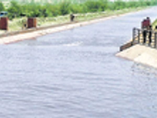 पंजाब ने 45 आरडी से घटाया पानी, आज रात तक हमारी नहराें पर असर पड़ेगा। - Dainik Bhaskar