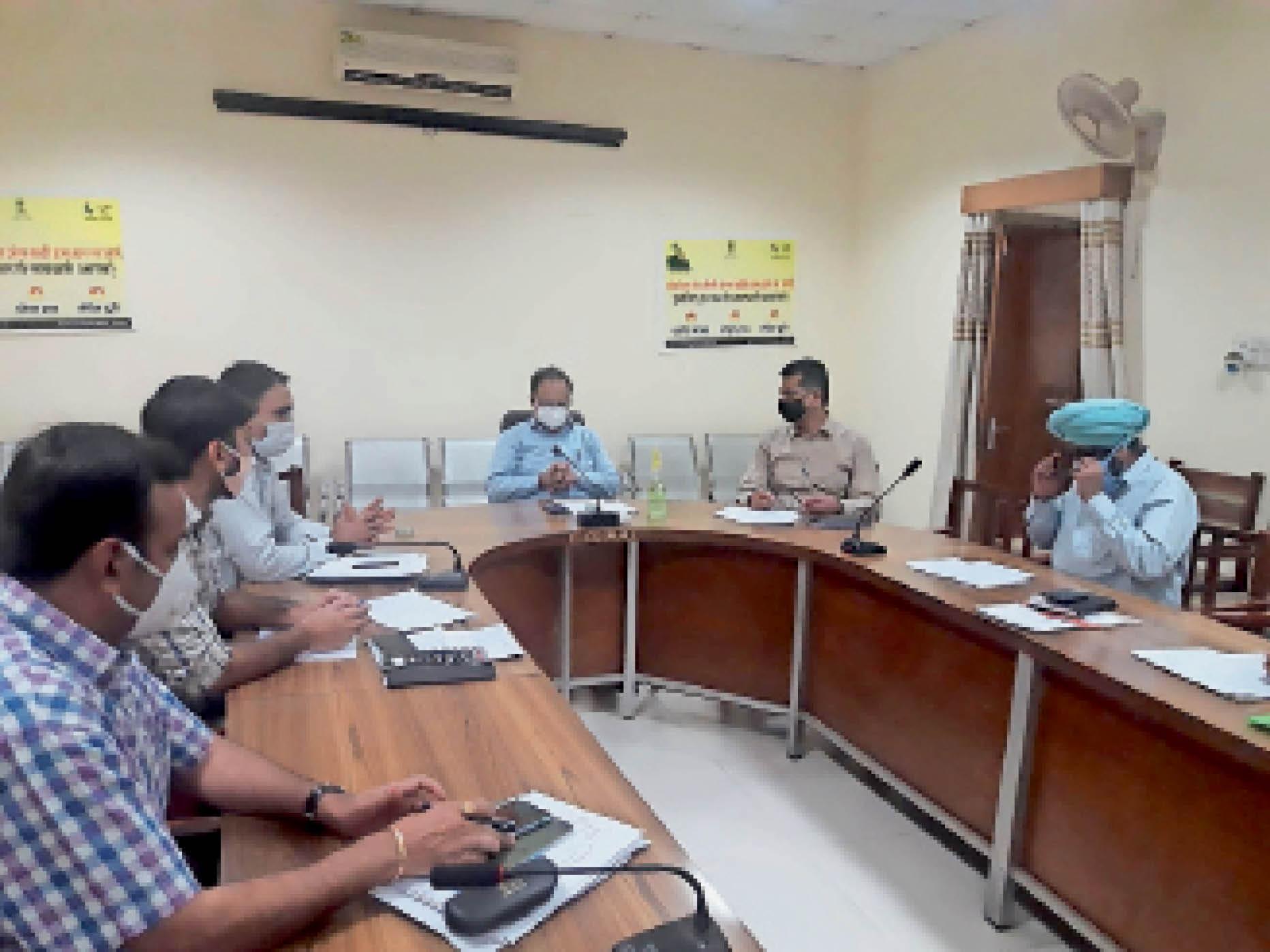 ऑक्सीजन, अब जिला अस्पताल में दूसरा प्लांट 15 दिन में प्रारंभ होगा|श्रीगंंगानगर,Sriganganagar - Dainik Bhaskar