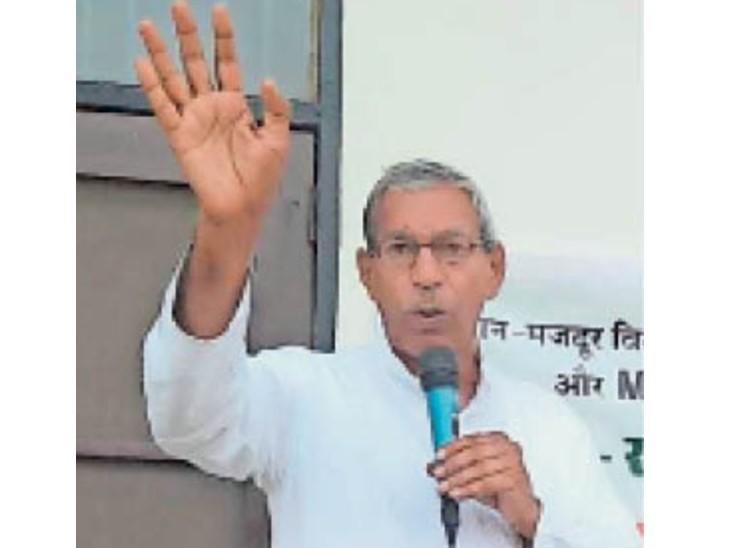 ऑल इंडिया किसान खेत मजदूर संगठन के राष्ट्रीय अध्यक्ष सत्यवान - Dainik Bhaskar