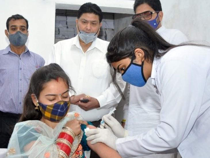 1 मई से 18-44 एज ग्रुप काे वैक्सीन लगने की संभावना कम, स्टॉक मिलने की पुष्टि नहीं चंडीगढ़,Chandigarh - Dainik Bhaskar