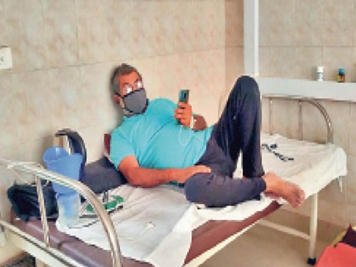 कोविड रिपोर्ट 2 दिन पहले ही निगेटिव आई, फिर भी डिस्चार्ज नहीं; बाहर से लौट रहे हैं गंभीर मरीज|रांची,Ranchi - Dainik Bhaskar